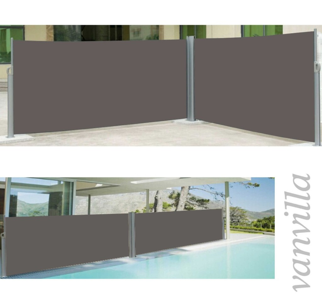 doppelseitenmarkise f r terrassen markise. Black Bedroom Furniture Sets. Home Design Ideas