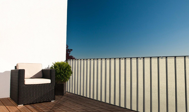 balkonsichtschutz markise. Black Bedroom Furniture Sets. Home Design Ideas
